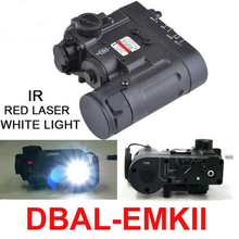 Hunting Element Tactical Flashlight DBAL-D2 IR Laser and Led Torch DBAL-EMKII Weapon Light EX328