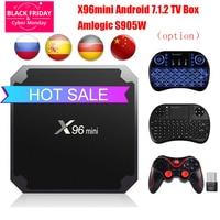 Android 7 1 2 TV BOX X96 Mini 2GB 16GB 1GB 8GB TV Box Amlogic S905W