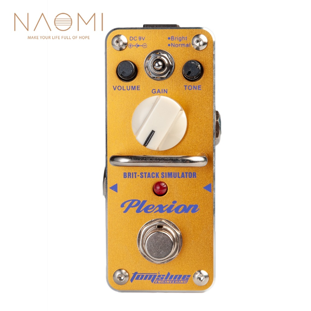AROMA APN 3 Electric Guitar Effect Pedal Plexion Brit Stack Simulator