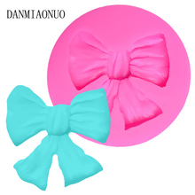 DANMIAONUO Mini Cube Bow Tie Cupcake Mold Food Grade Jelly Pudding Silicone Chocolate Molds Kitchen Cartoon Fondant A71250