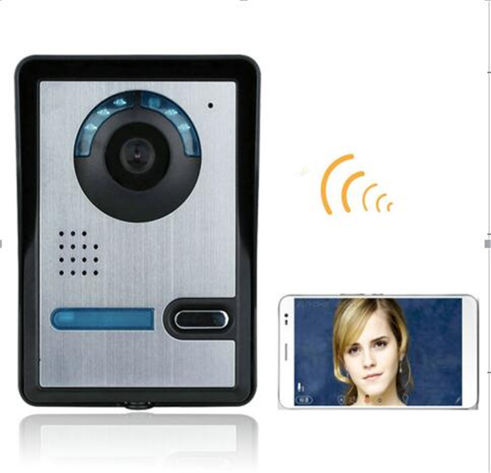 720p Motion Detection APP Remote Control WIFI Doorbell Video Door Phone app remote control 720p wifi video door phone