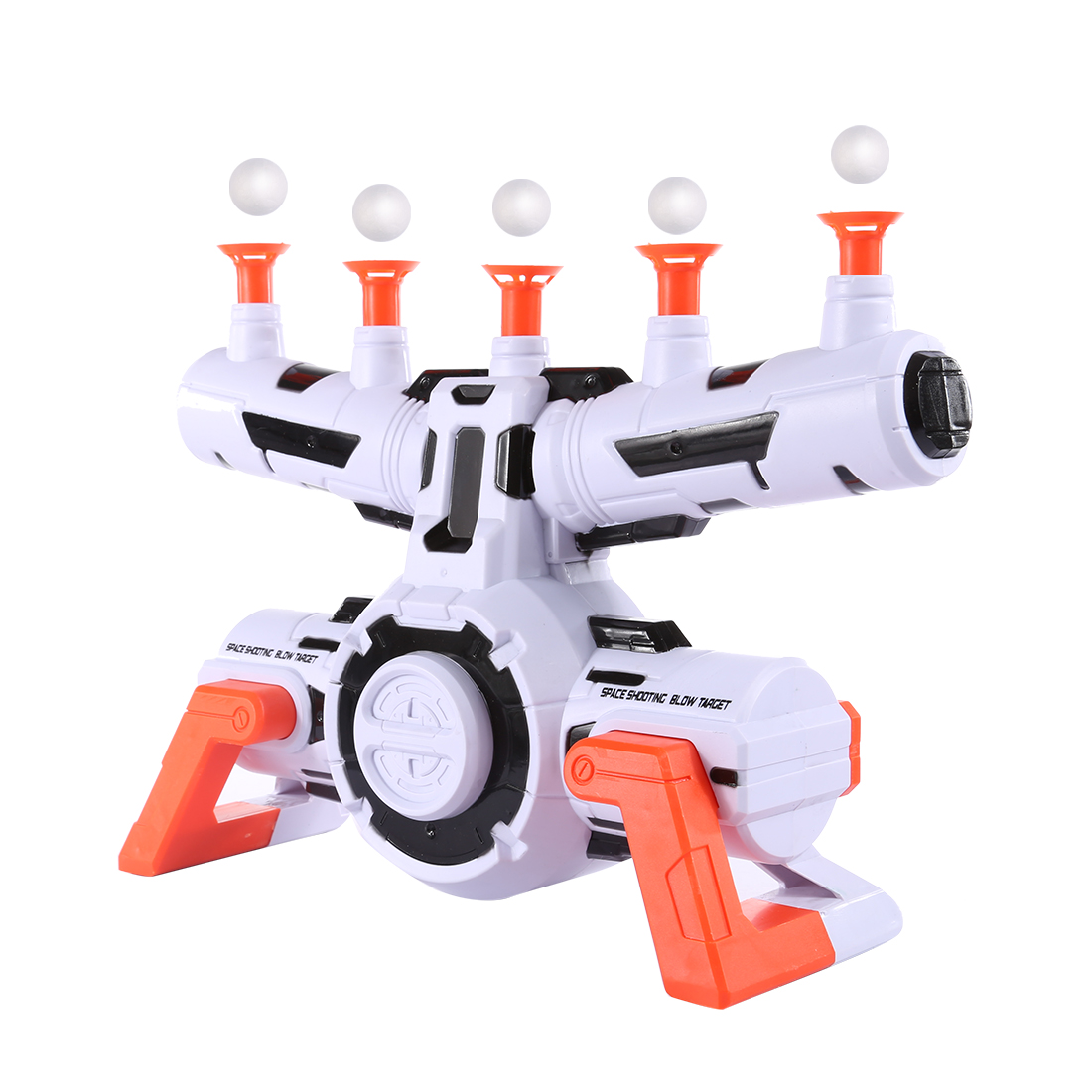 Water Gel Ball Shooting Target Electric Suspended Ball Dart Target Soft Bullet Shooting Aim Practice For Paintball Accessories