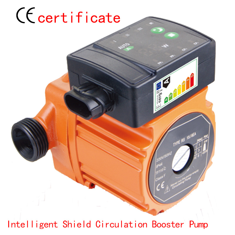 CE Approved Intelligent shield circulating booster pump RS15-4EAA,programmer control, household pipe system, industry machine стоимость