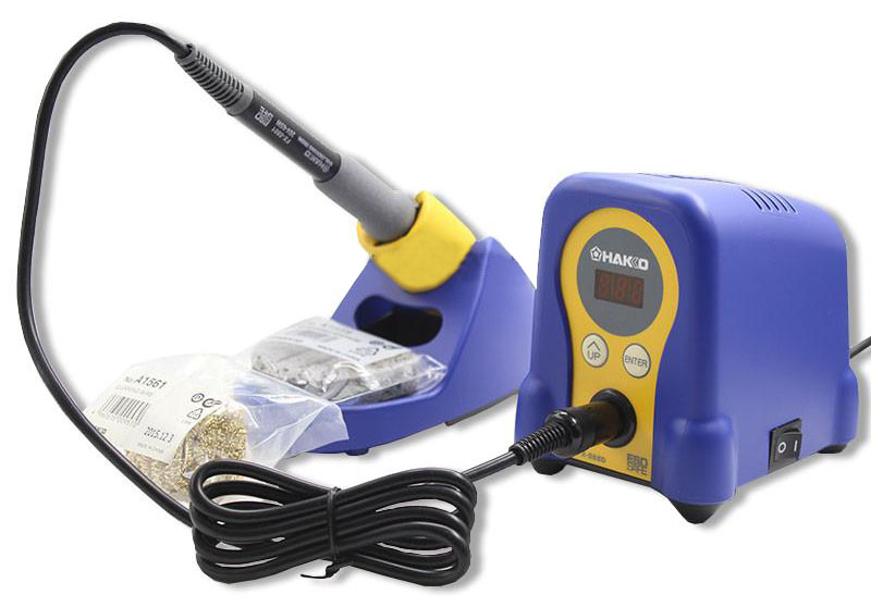 HAKKO FX-888D Safe Soldering Station Soldering Iron ESD-safe 220V dhl free shipping hot sale 220v hakko fx 888 fx888 888 solder soldering iron station with 10 free tips 900m t