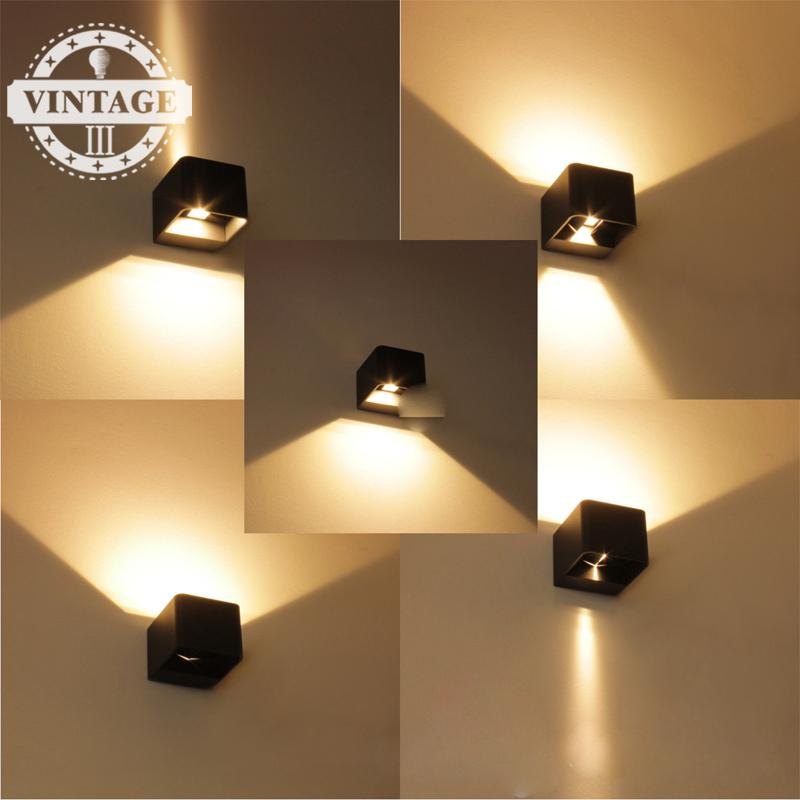 Outdoor Waterproof Cube Adjustable Surface Mounted 7w Led ...