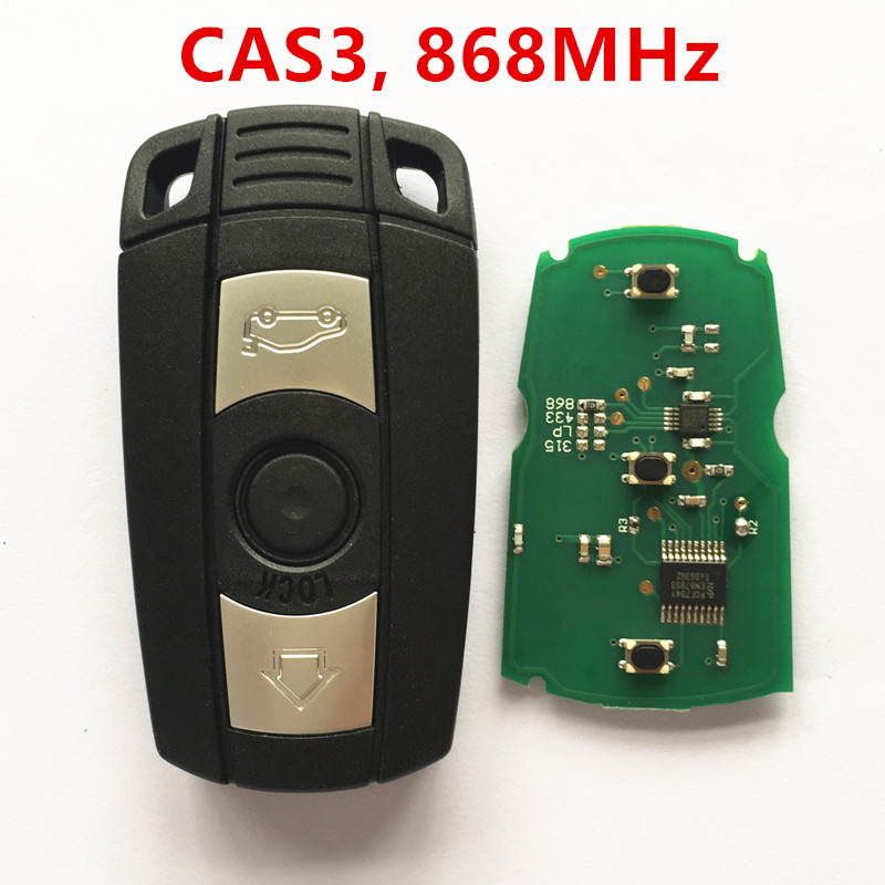 Car Smart Remote Key for BMW 1 3 5 6 series X1 X5 X6 Z4 868MHz