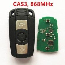 Coche Llave Inteligente A Distancia para BMW 1 3 5 6 series X5 X6 X1 Z4 868 MHz CAS3 Sistema Sin Llave entrada