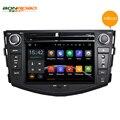 5.1.1 2Din Android Car DVD Para Toyota Rav4 1024*600 Capacitivo Pantalla táctil de 1.6 Ghz CPU Gps Flash de Radio FM RDS BT