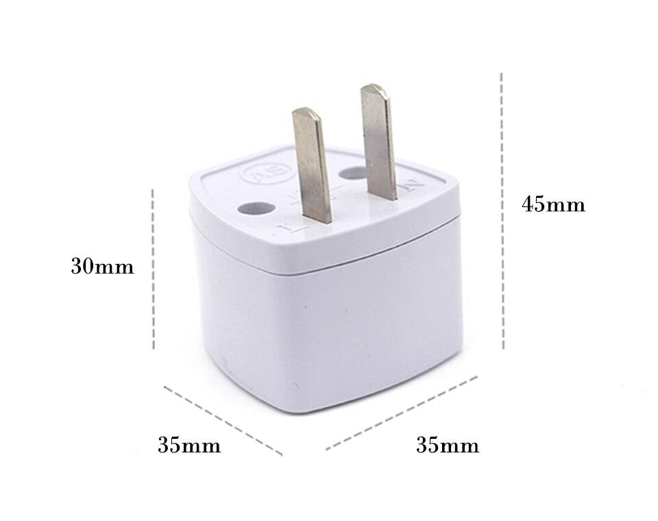 Universal Worldwide Adapter Electric Socket AU UK US EU Plug Adaptor Travel Wall Charger AC Power Option 2 USB Charging Port (7)