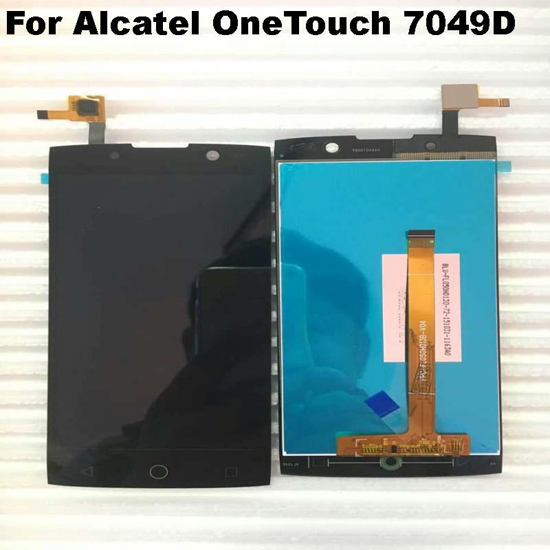 US $24 79 13% OFF|100% Origina For Alcatel OneTouch Flash 2 7049D OT 7049D  LCD Display +Touch Screen Digitizer Assembly Mobile Phone Repair Parts-in