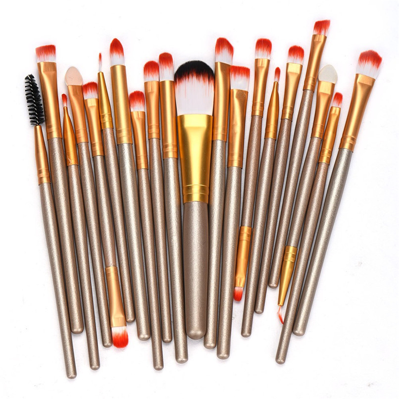 20 pcs Professional Makeup Brushes Foundation Brush New Women Makeup Brush Set 2016 Beauty