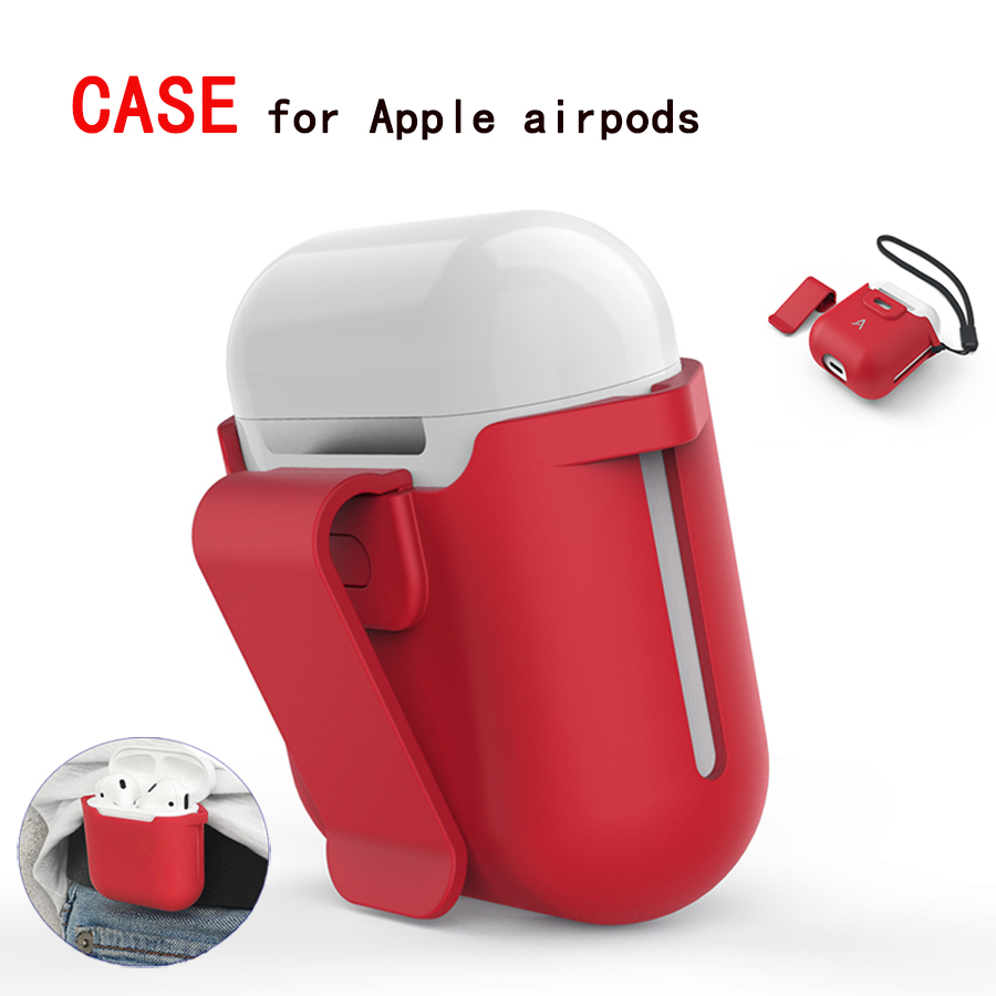 Case For Apple Airpods Proof Protector Cover Pouch Anti Lost Case True Wireless Earphone Accessories