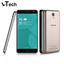 Origine Doogee X7 Pro 4G LTE Mobile Téléphone 6.0 Pouce 1280×720 HD MTK6737 Quad Core Android 6.0 2 GB RAM 16 GB ROM 8MP En Métal Cadre