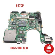 NOKOTION original 686970 001 Main board For HP Elitebook 8570P Laptop Motherboard DDR3 with graphics card full test