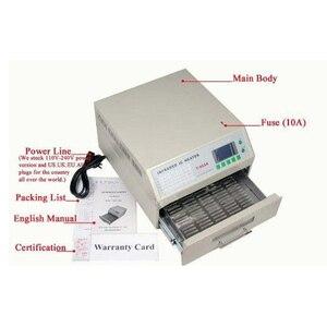 Image 4 - Puhui système de reflux à infrarouge 110 220V/T 962 V, four de chauffage IC, Station de réparation BGA, T962
