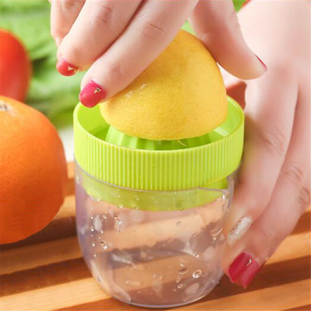 Mini Manual Hand Citrus Juicer Orange Plastic Squeezer Lemon Fruit Press Juice