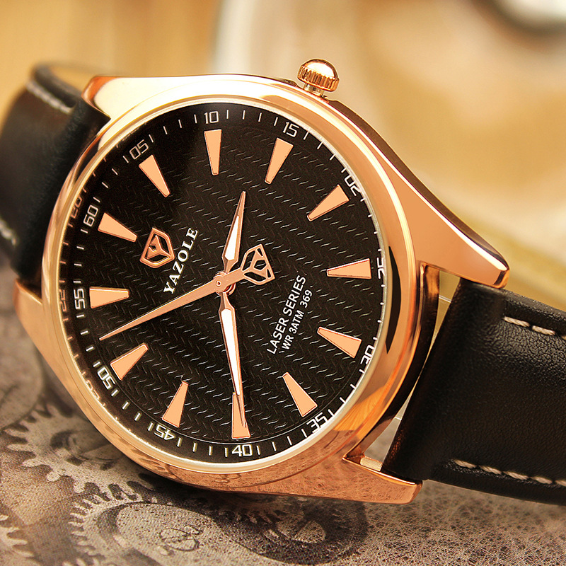 Rose Gold Watch Men 2016 Top Brand Luxury Famous Male Clock Quartz Watch Golden Wrristwatch Relog Quartz-watch Relogio Masculino