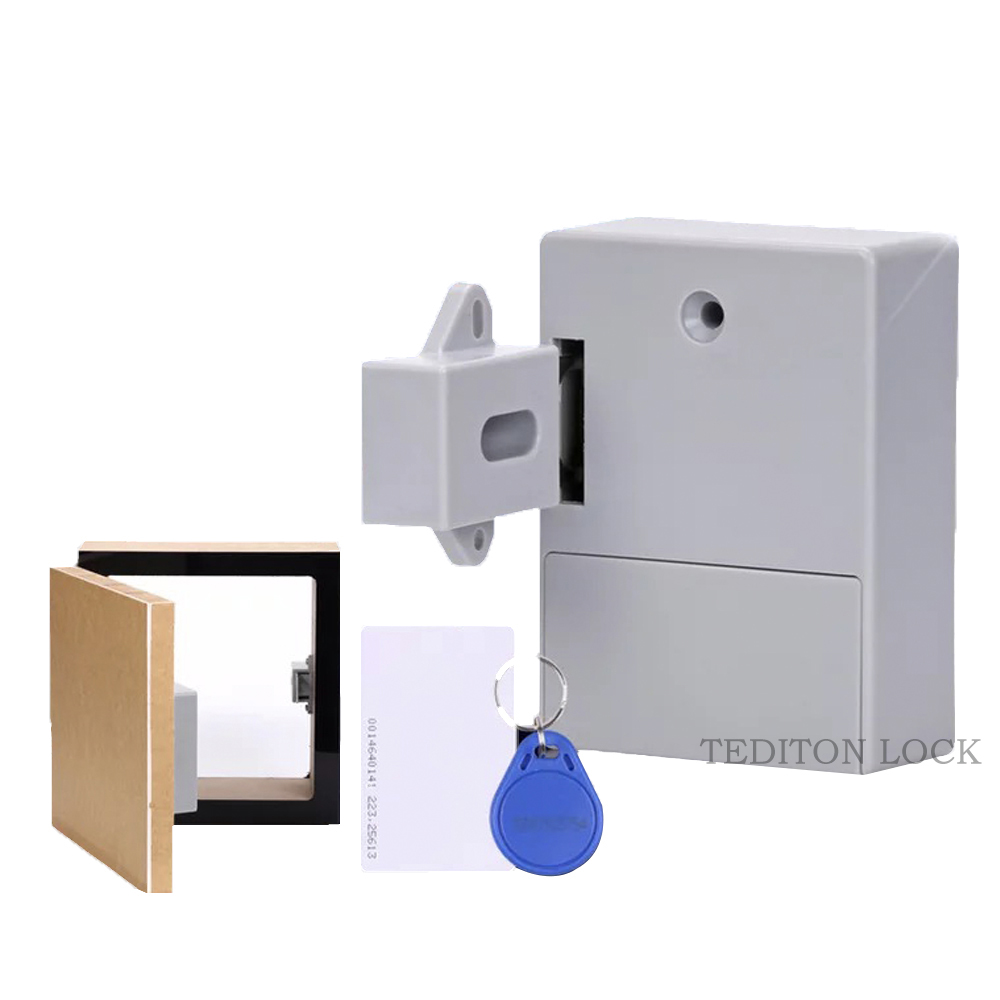 RFID Hidden Drawer Lock Furniture Desk Cabinet Locker Lock Safety Smart Home Door Cupboard Childproof Locks