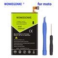 Аккумулятор WONKEGONKE 2500 мАч ED30 для Motorola Moto G G2 XT1028 XT1032 XT1033 XT1034