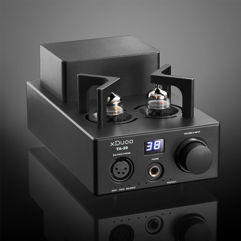 XDUOO TA-20 12AU7 HIFI AUDIO High Performance Balanced Tube Headphone amplifier original xduoo ta 20 high performance balanced tube headphone amplifier power amplifier