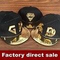 Moda coréia carta Cap chapéu Bigbang GD G - dragão de Spike Studs Rivet 3D acrílico Hiphop boné de beisebol para homens mulheres