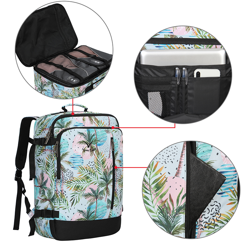 2019 été unisexe sacs à dos d'ordinateur portable hommes voyage sac à dos mode impression bagages sac étanche grand sac à dos voyage sac à dos femmes