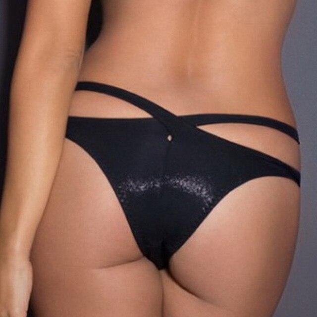 New Sexy Black Briefs Panties 2