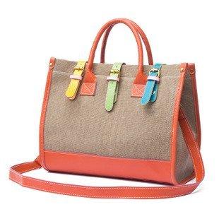 2017 Color Block Women Handbags Candy Canvas Material Shoulder Messenger Bags For Lady Retail
