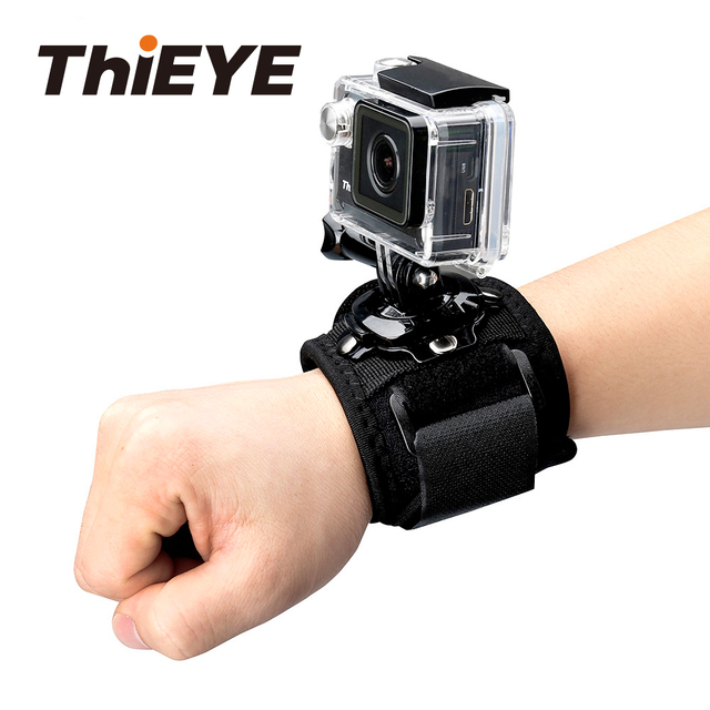 ThiEYE Action Camera Accessories 360 Degree Rotary Wrist Strap Mount for Gopro Xiaomi Yi Eken Action Cam Accessory ThiEYE Series