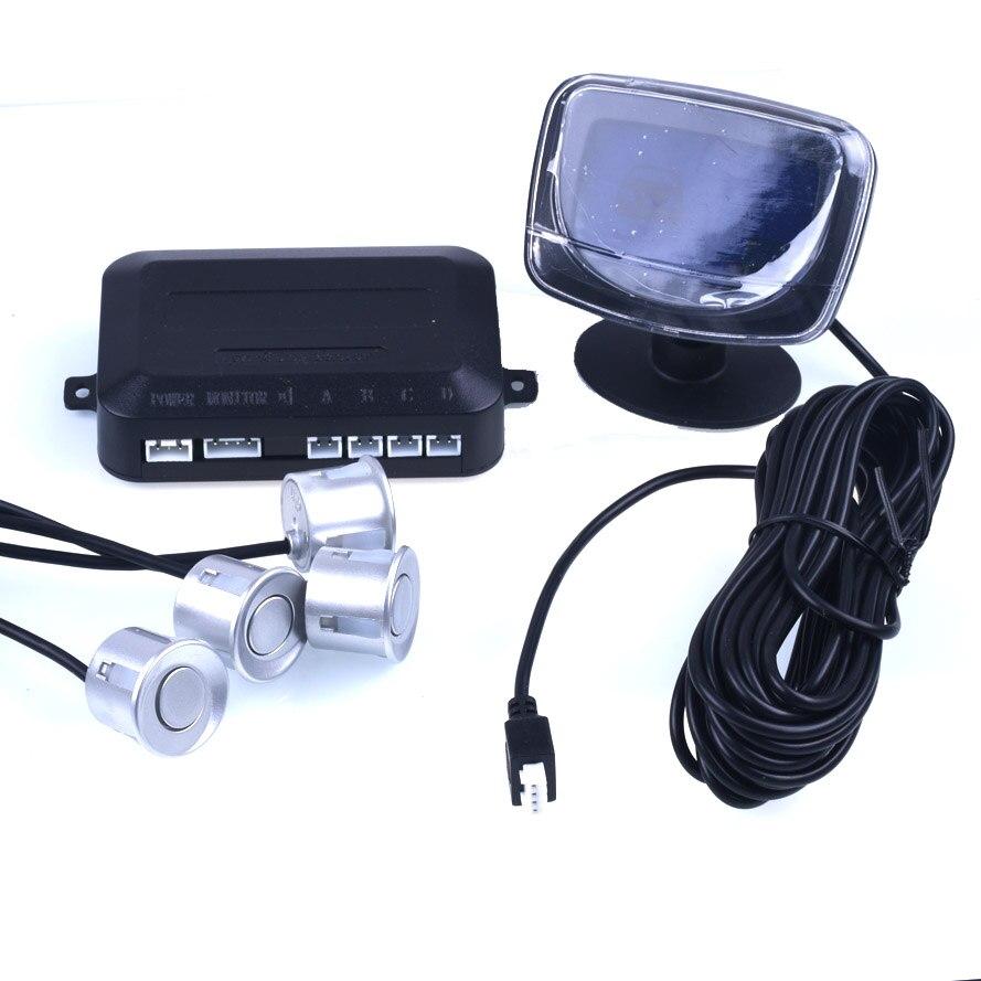 Sensores de aparcamiento 4 Accesorios Para Automóviles Electrónica Resistente A
