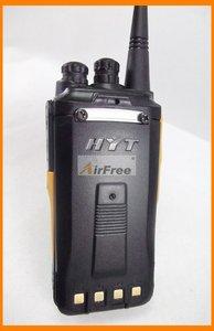 Image 5 - HYT TC 610 5W נייד שתי בדרך רדיו עם ליתיום סוללה HYTERA TC610 ארוך טווח ווקי טוקי UHF VHF עסקים רדיו