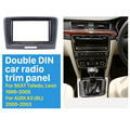 Nice Double Din Car Radio Fascia for 2009 2010 2011 2012-2014 Skoda Superb Dash CD DVD Frame Surround Panel Fitting Adaptor