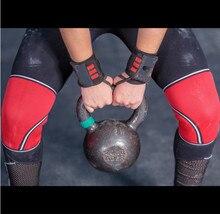 ФОТО 7mm (1 pair )of knee  sleeves neoprene for cross training wod, squats, gym workout, powerlifting