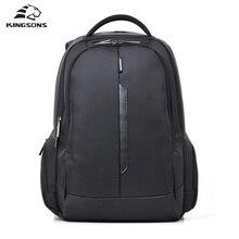 Kingsons Marke Stoßfest Laptop Rucksack Nylon Wasserdicht Männer Frauen Computer Notebook-tasche 15,6 zoll Schultaschen für Jungen Mädchen