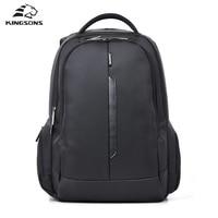 Kingsons Brand Nylon Waterproof Laptop Backpack Men Women Computer Notebook Bag 15 6 Inch Laptop Bag