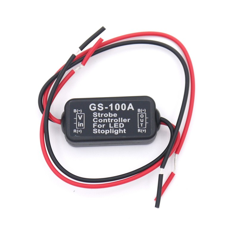 Auto Car  GS-100A LED High Position Brake Tail Stop Light Strobe Flash Flashing Controller Box LED Lights New