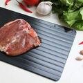 Тарелка для разморозки лоток для быстрого разморозки оттепель размораживание мяса замороженные продукты алюминий