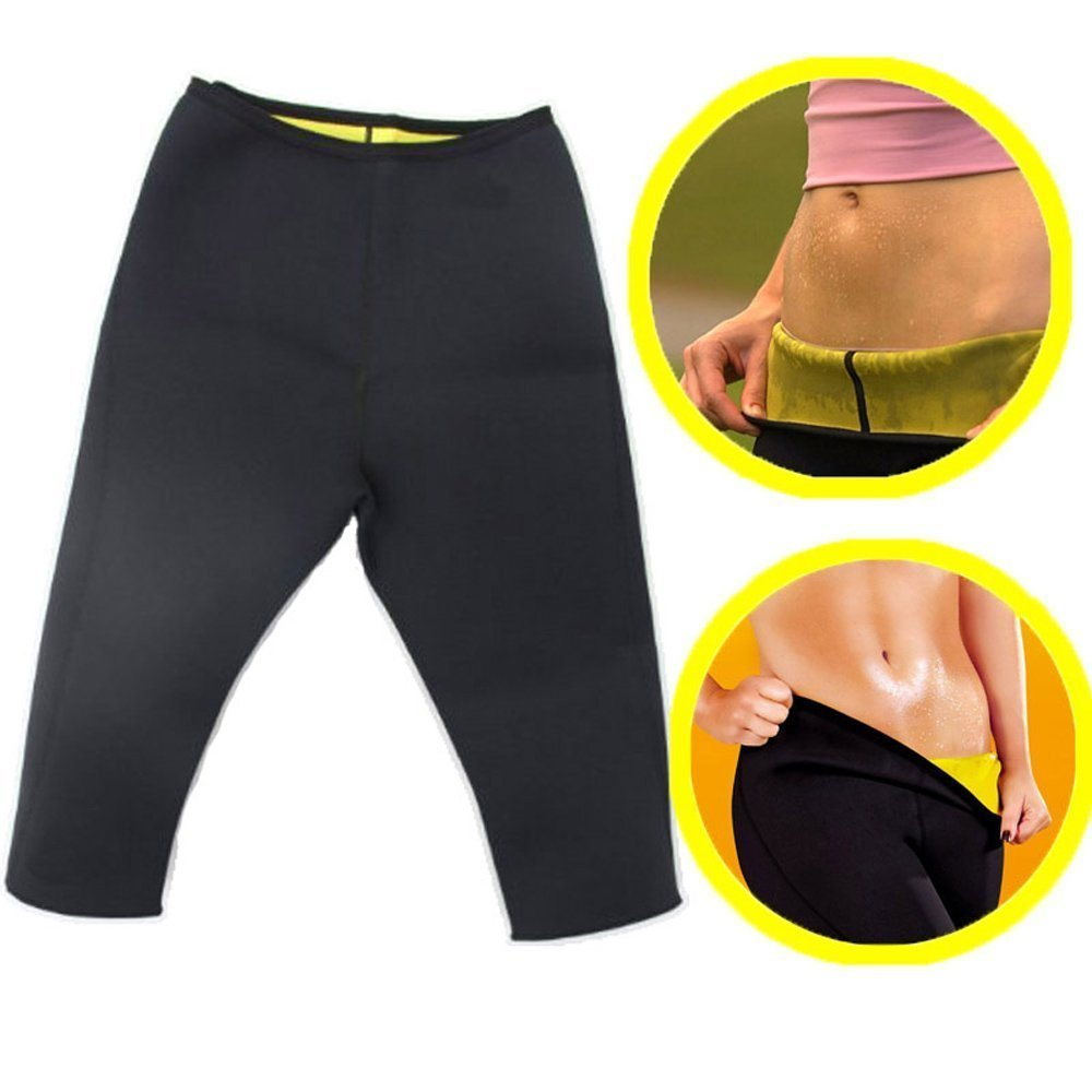 Women 39 s Fitness Sport Shapers Yoga Pants Fit Sweat Gym Body Shaper Pants Slimming Suit for Women Waist Trainer Belt Sportswear in Yoga Pants from Sports amp Entertainment