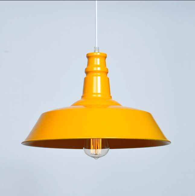 American retro industry Pendant Lights Retro personality loft single head cafe pot lid iron factory warehouse restaurant lamps loft style iron pendant lamp creative industry restaurant bar cafe personality studio gear 2 head pendant lights