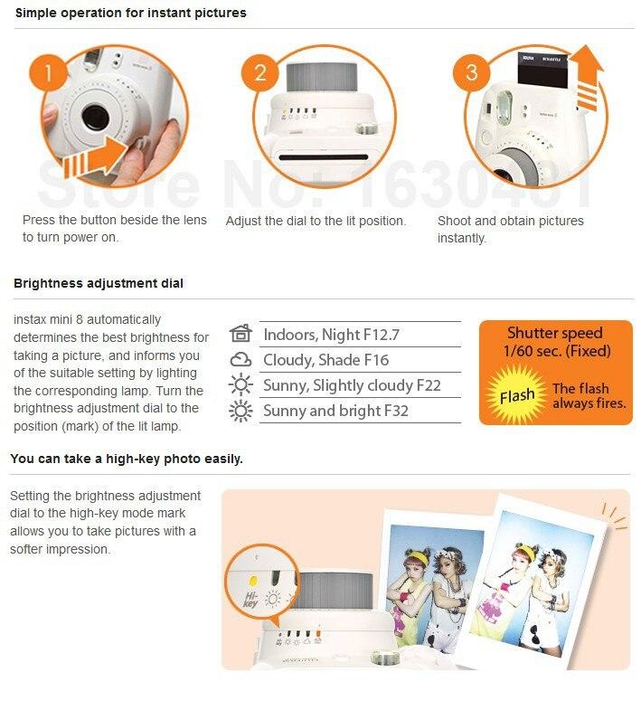 Instax Mini 8 инструкция - фото 3