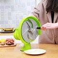 0 2-8 мм ручная машина для нарезки фруктов лимонный картофель овощи круглый слайсер фоппер резак коммерческий/Ho использовать держать использ...