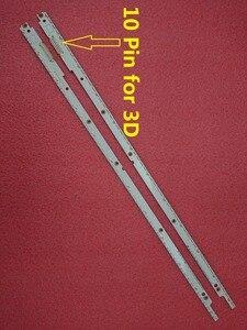 Image 2 - 2pcs LED backlight strip for UE40ES6100 UE40ES6100W UE40ES5500K UE40ES5500 UE40ES6710U UE40ES6800 2012SVS40 BN96 21712A 21711A