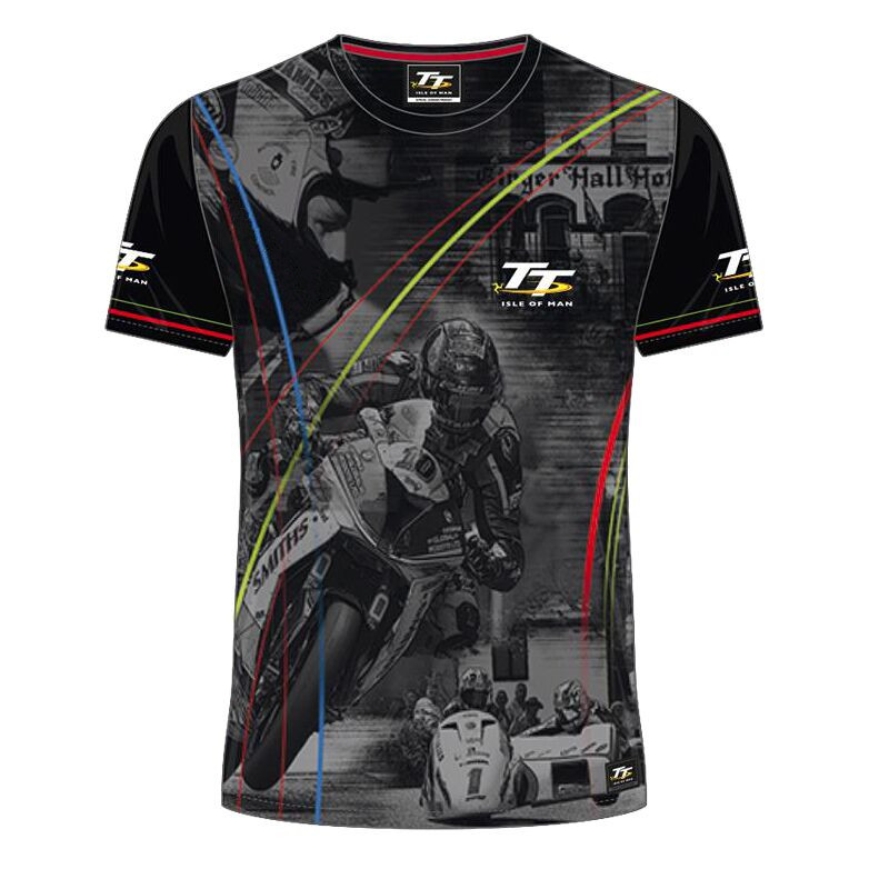 2018 New Season Motorcycle SBK Racing T-shirts 5 Style Tee Shirts For Isle of Man TT MX XC DH Mountain Bicycle Short Jersey