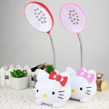 Pink Cat Led Table Lamp 110v-220v Switch Button Living Room Kitchen Bedroom Fashion Pink Cat USB Charger Table Light