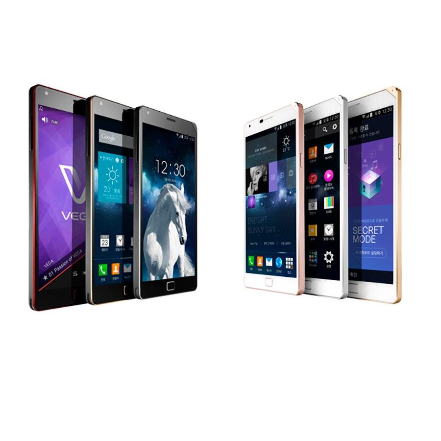 Цена за Оригинальный телефон Pantech sky Vega IRON2 A910 5.3 дюймов 1080 P 3 ГБ RAM 32 ГБ ROM qualcomm 801 восстановленное смартфон