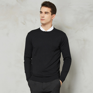 Image 5 - 10 Colors Mens Casual Knit Sweater 2020 Autumn Winter New Slim Fit Pullover Wool Cashmere Sweater Men Brand Clothes