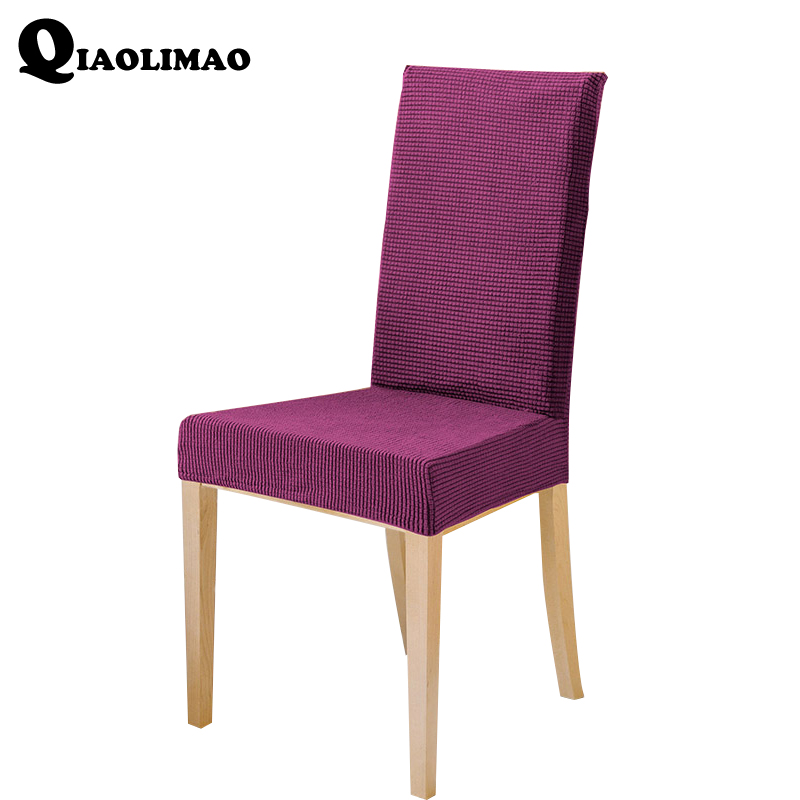 Strange Us 8 99 50 Off Polar Fleece Fabric Xl Size Long Back Plaid Chair Cover Seat Covers Chair Covers Resterant Hotel Party Banquet Housse De Chaise In Machost Co Dining Chair Design Ideas Machostcouk