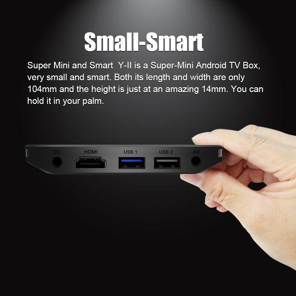 A95X Plus TV caja Android 8,1 Amlogic S905 Y2 4 GB DDR4 32 GB ROM 2,4G/5G wiFi USB3.0 BT4.2 soporte 4 K H.265 Smart Media Player - 4
