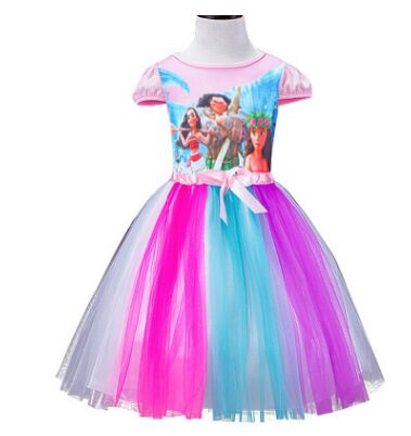 Cagiplay Kinder Kleid My Little Pony Sommer Moana Minnie Madchen
