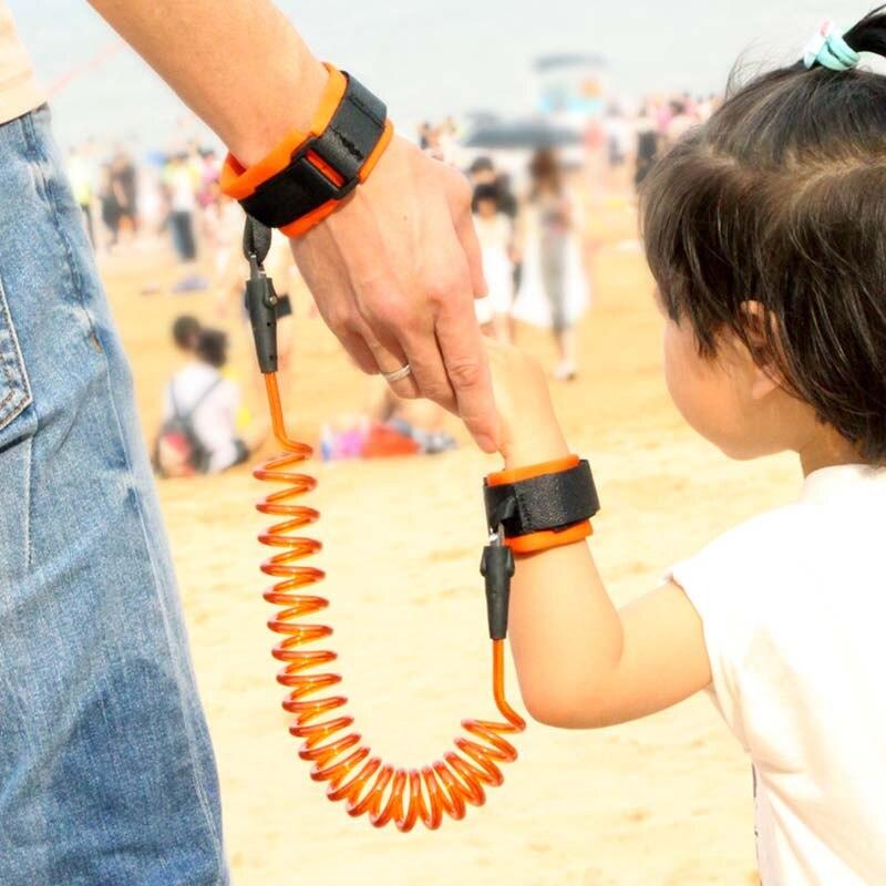 Adjustable Kids Safety Harness Leash Anti-lost Link Children Belt Child WristWalking Assistant Baby Walker Wristband 1.5/2/2.5M